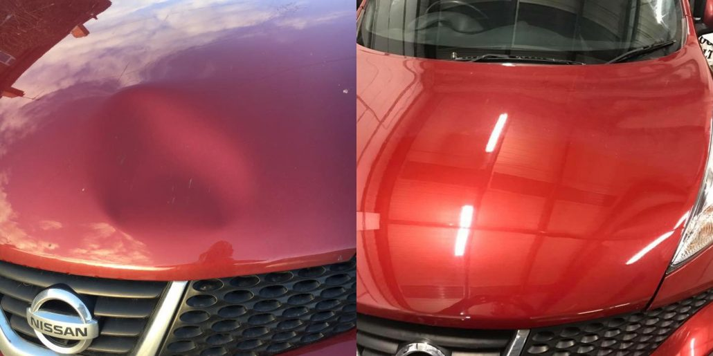 What We Do - Dent Aid - Paintless Dent Repair in